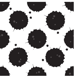 spilled oil pattern vector image