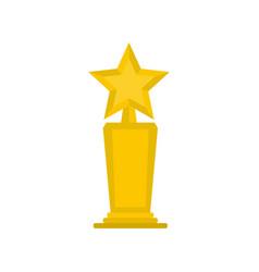 star award icon flat vector image