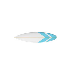 surfing elongated shortboard balsa board vector image