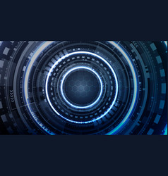 Technological future interface hud cyber access vector