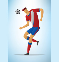 football player 23 vector image vector image