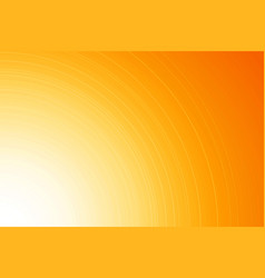 bright yellow orange background with thin lines vector image
