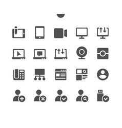Communication pixel perfect well-crafted vector