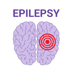 epilepsy icon vector image
