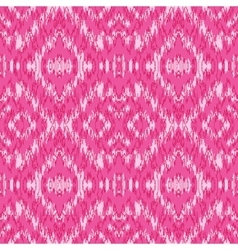 Ethnic pink seamless pattern vector image