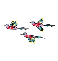 hummingbird colibri vector image