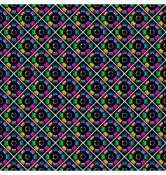 multicolor pattern vector image