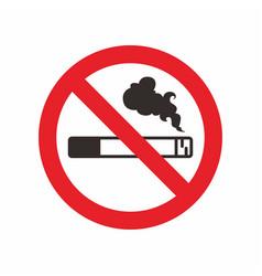 No smoking sign logo icon design template vector