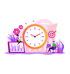 Productivity concept vector