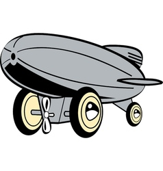 Toy Blimp vector image