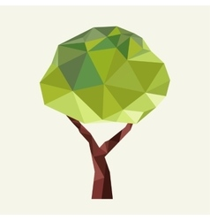 green tre - logo and icon vector image