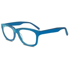 blu glasses vector image vector image