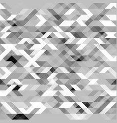 grayscale futuristic geometric pattern vector image vector image
