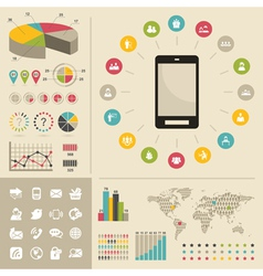 Telecommunication2 vector image vector image