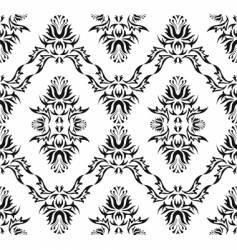 damask Victorian pattern vector image vector image