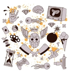 Crazy Party 2 vector image vector image