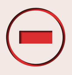 A traffic sign - dead end vector