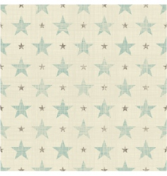 Big and small star pattern vector image vector image