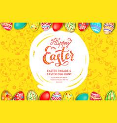 big holiday eggs vector image