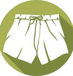 Boxer Shorts Icon vector image