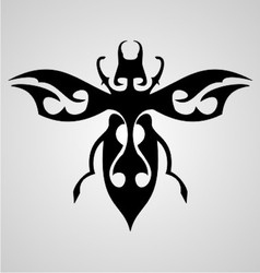 Bugs Tattoo Design vector
