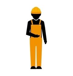 Builder construction worker vector