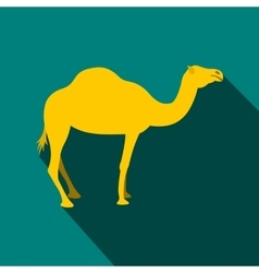 Camel icon flat style vector