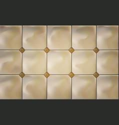 cream luxury marble ceramic tiles vector image