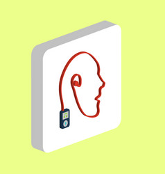 Favorite music computer symbol vector