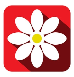 Flower Icon - Flat Design vector