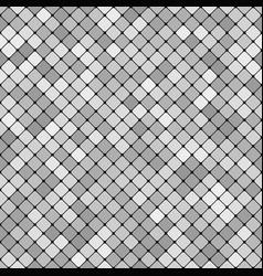 Grey abstract repeating diagonal square pattern vector