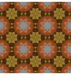 Kaleidoscope abstract colorful vintage pattern vector image