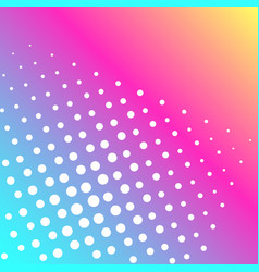 Pop art background of a color rainbow and vector