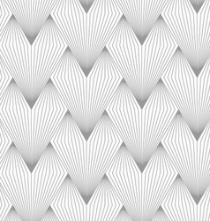 Slim gray hatched triangular shapes vector
