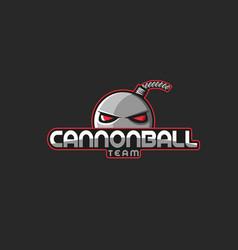 professional esports emblem team mascot logo vector image