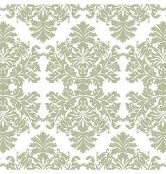 Vintage Imperial Baroque ornament pattern vector image vector image