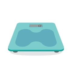 Bathroom scale icon vector image