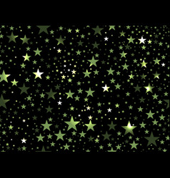 stars seamless pattern magic star pattern outer vector image