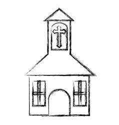 church icon image vector image