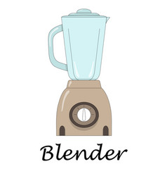 Color of the blender vector