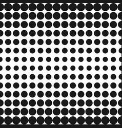 Half tone circles pattern halftone dots vector