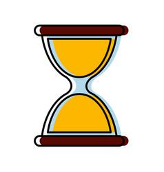 Hourglass icon image vector