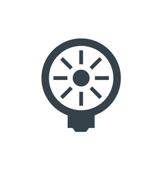 light bulb concept logotype template design vector image
