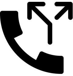Split call vector