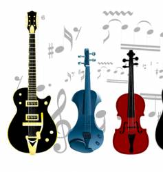 string instruments vector image