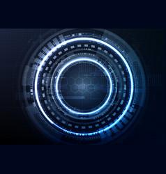 technological interface access encryption vector image