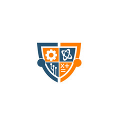 Technology science study shield support vector