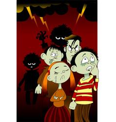 bad children vector image