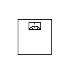 scale icon vector image vector image