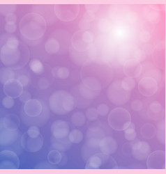bokeh texture on a bright purple background vector image